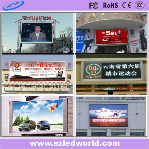 P12 Full Color Outdoor Stadium LED Display for for Football