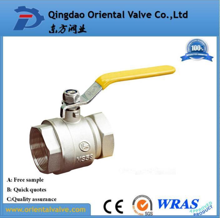 Good Quality Fashion Design Pn25 Safe Brass Water Ball Valve