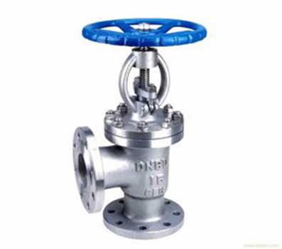 Sanitary Stainless Steel Pneumatic Angle Seat Valve
