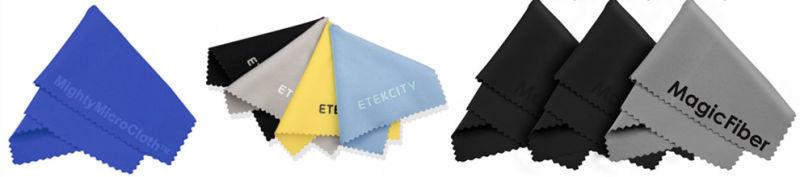 Custom Print Microfiber Glasses for Cleaning Cloth