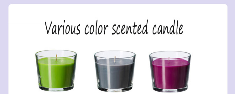Oem colorful Candle