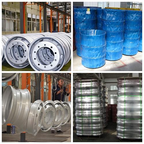 11.75X22.5 Steel Wheels for Truck Tyres
