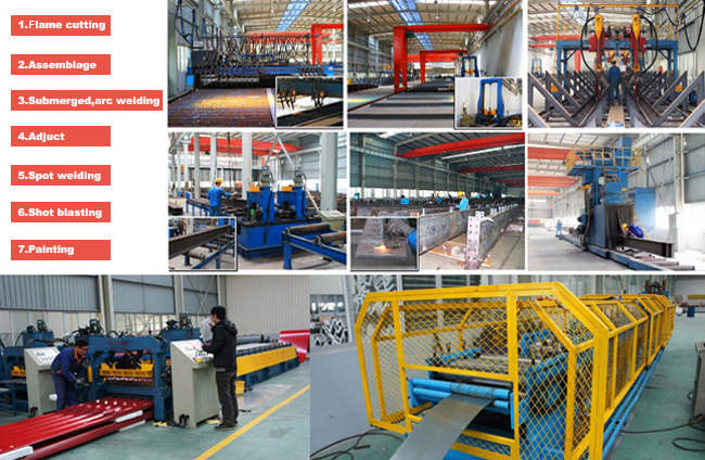 Professional Designed Prefabricated Steel Structure Exhibition Hall