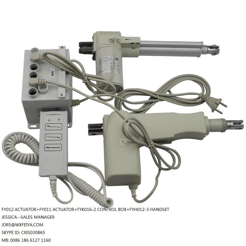 Massage Bed DC 12V or 24V Electric Actuator 450mm Stroke 4000n