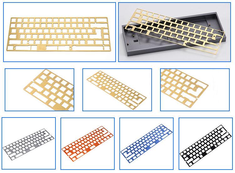 custom Programmable 68 CNC Aluminum Case Plate