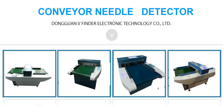 Table Needle Detector for Garment Industry