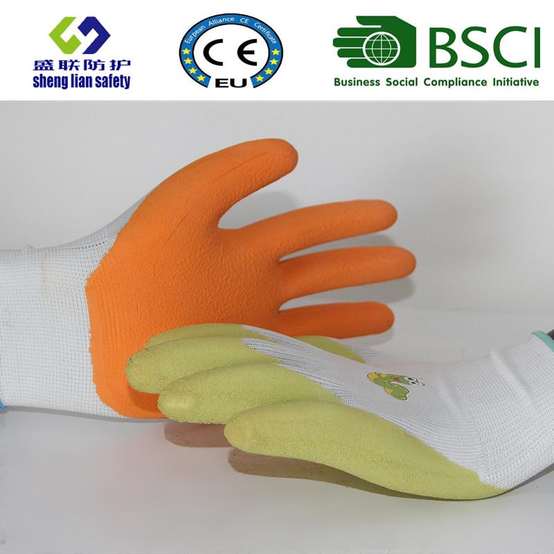 Foam Latex Coated Gardening Work Gloves