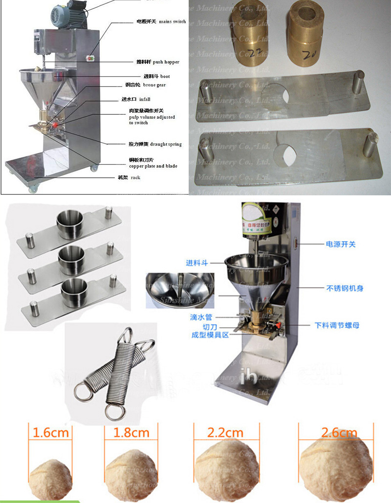 Food Processor Meat Ball Production Meatball Maker Making Machine