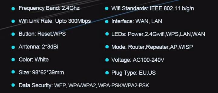 Wireless WiFi Router 802.11 B/G/N Wireless-N Network Wi-Fi Routers Signal Booster Roteador