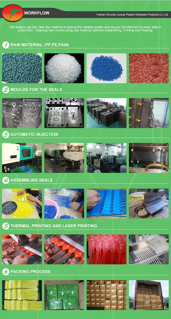 Plastic Material Seals, Plastic Locks, Plastic Seals 300mm Long