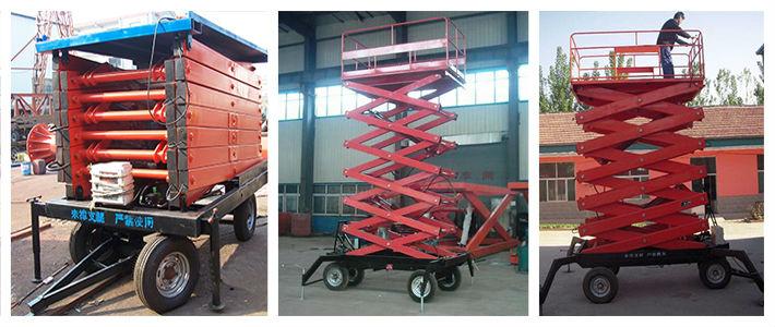 Hot Sale Movable Scissor Lift Aerial Work Platform