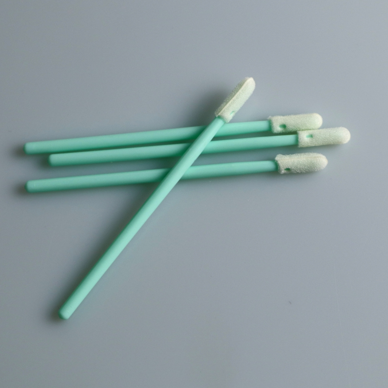 Small Head Cleanroom Foam Tip Swab
