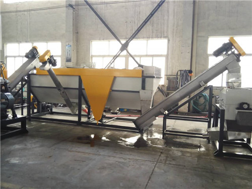 Plastic Bottle Recycling Washing Machine for Granulating