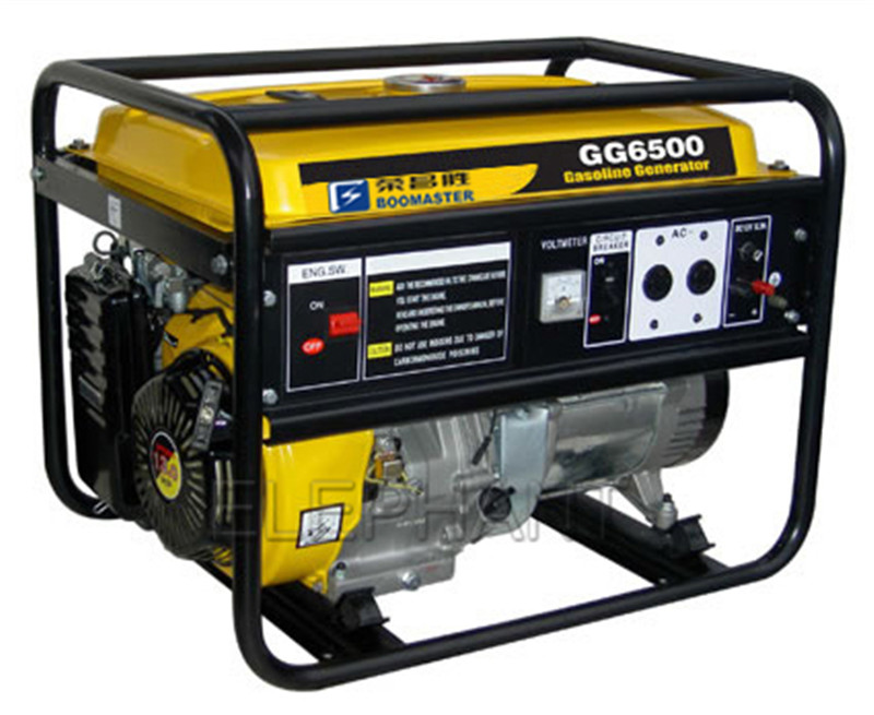 5.0kVA Portable Gasoline Generator for Home