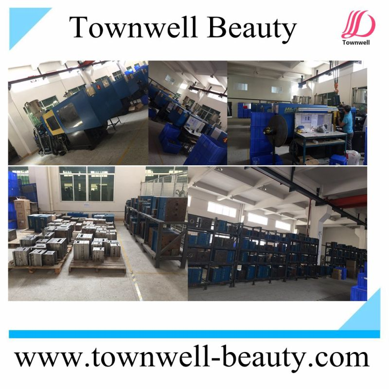 LCD Salon Hair Styling Tools Ceramic Flat Iron Brush Professional