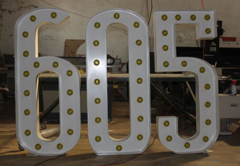 3D Metal Decoration Letters for Advertising