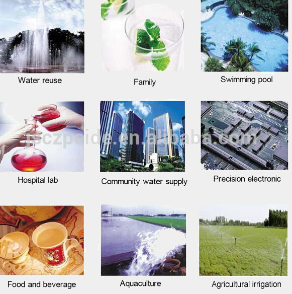 Rainwater Recycling Livestock Farm Pharmaceutical Water Sewage UV Disinfection