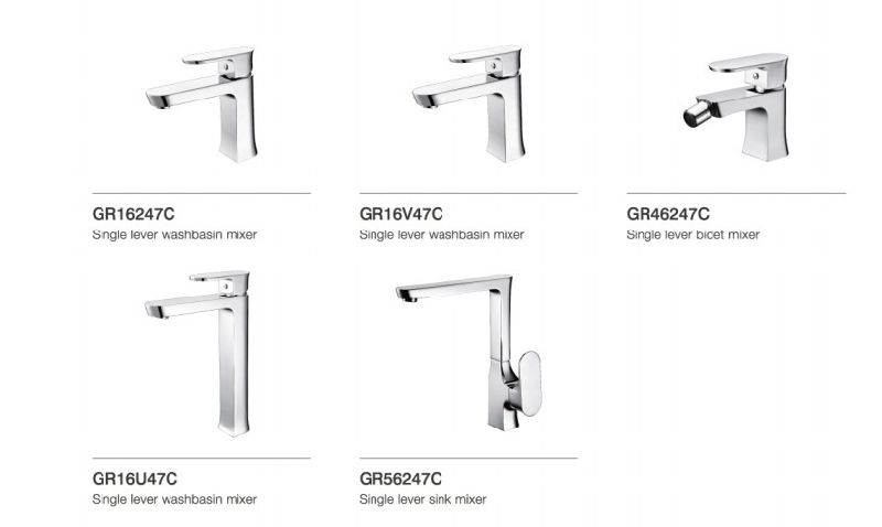 Luxury Single Lever Water Faucet (DH34)