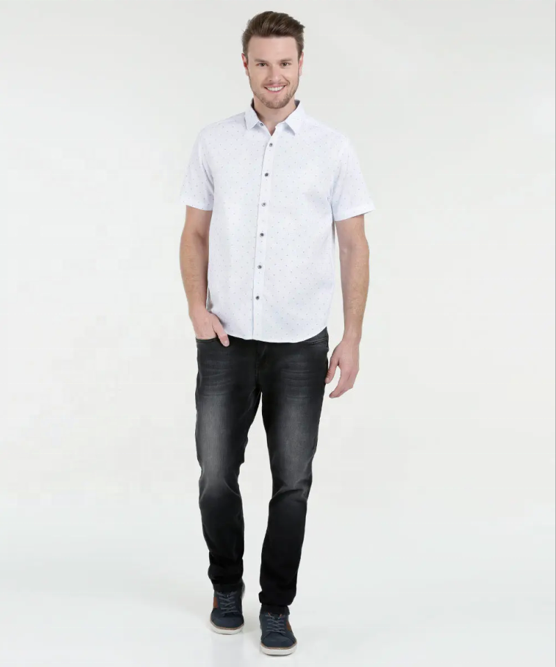 short sleeve business formal dress shirt