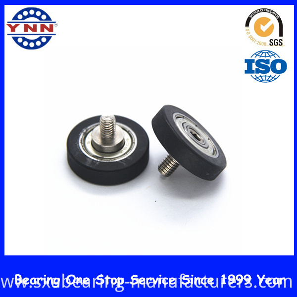 Non-Standard Black Plastic Coated Deep Groove Ball Bearings