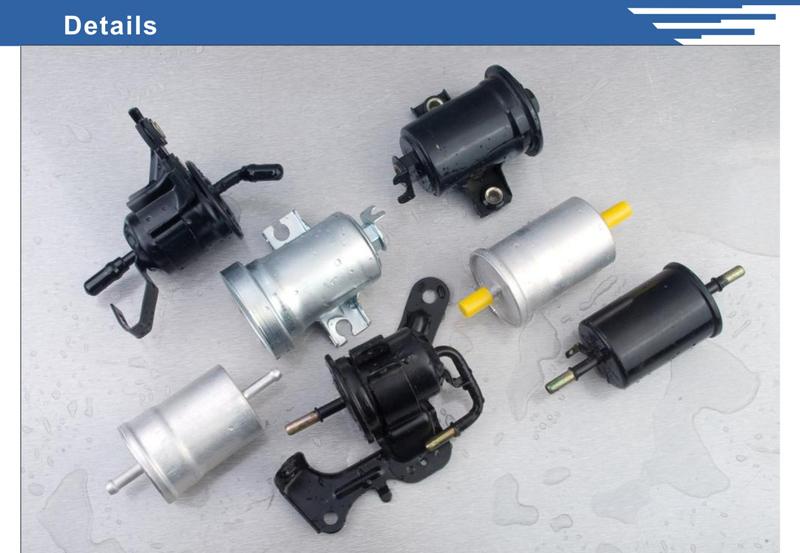 Various Dimension Car Parts Aluminum Fuel Filter Housing
