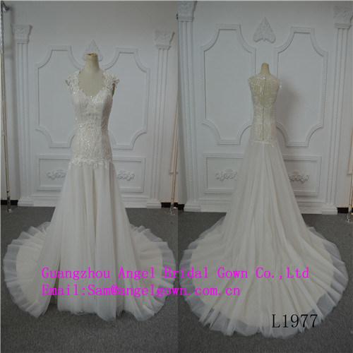 Mermaid Top Lace Bridal Wedding Dress