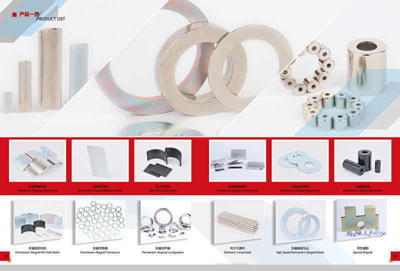 ring Magnet with Hole D100xD50X50 d100*d50*50