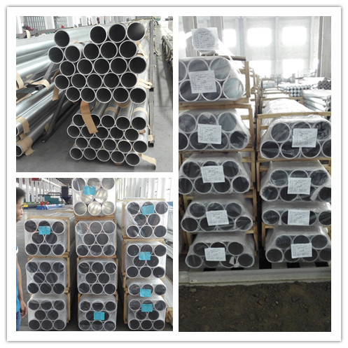 6082, 6061, 6063 Aluminum Round Pipe
