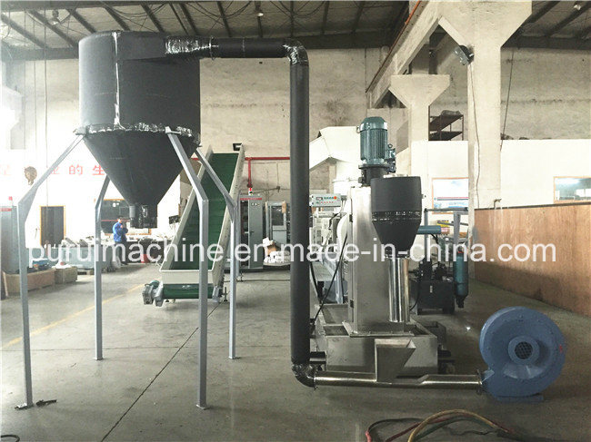 Plastic Recycling System with Double Disc Technology for Various Types of Plastics