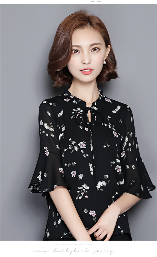 Elegant Chuffion Fashion Ladies' Blouse