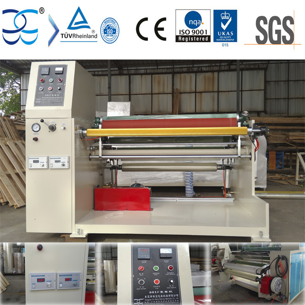 BOPP Packing Tape Log Rewinder Machine