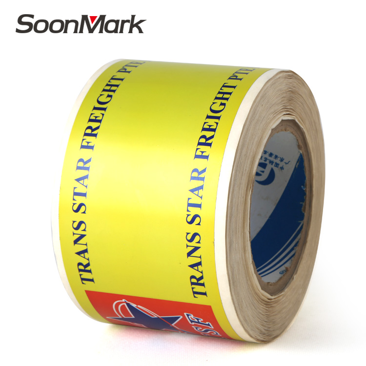 Security sticker printing