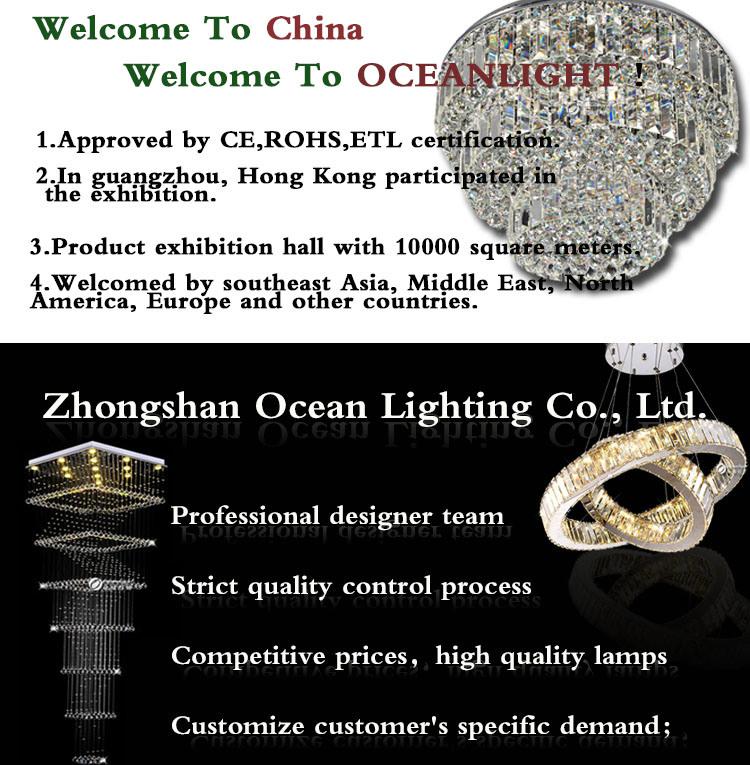 LED Crystal Chandelier Lighting (OM997 L80 W40 H25cm)