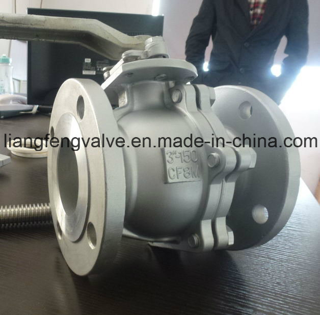 Ball Valve of Flanged with Stainless Steel