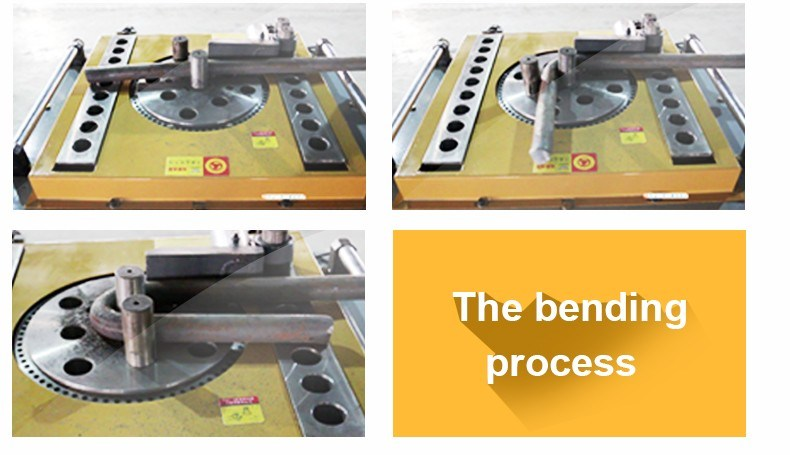 Auto/Manual Bending Machines for Round Bar and Flat Bar (GW42D)