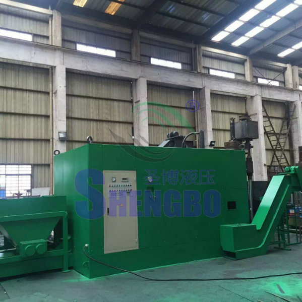 Fully Automatic Briquetting Line for Copper Shavings