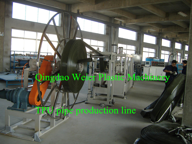 30 Lines Running in China TPU Hose Production Line