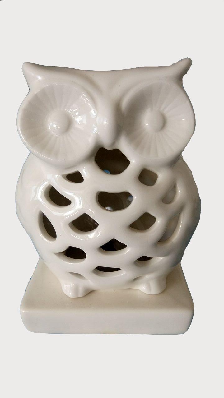 Owl Shape Lamp Night Light Incense Burner