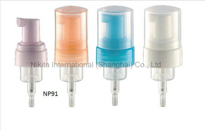 Plastic Foam Pump for Cosmetic (NP91)