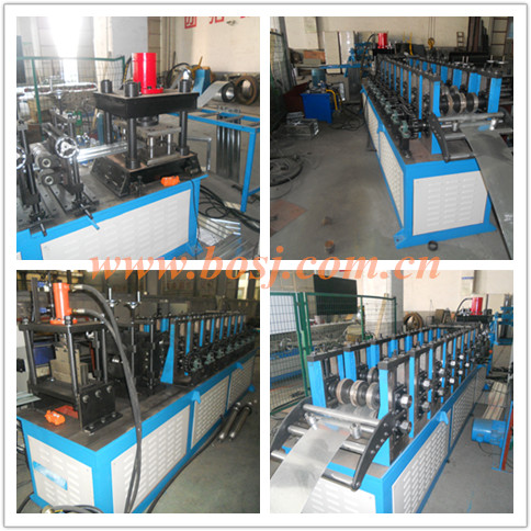 Rectangular Automatic Electric Opposed Blade Air Volume Control Valve Damper Roll Forming Machine Vietnam