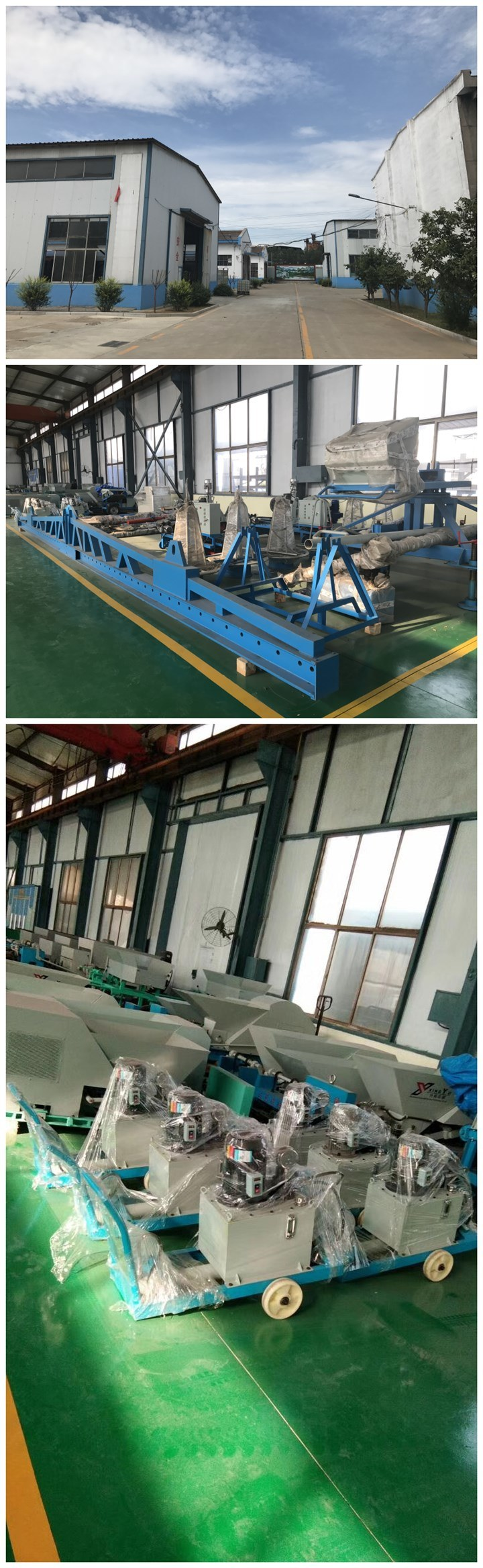 First-Class Panel Extruder Forming Machine