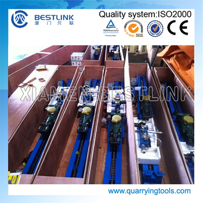 Quarrying and Mining Grout Hole Line Drilling Machine