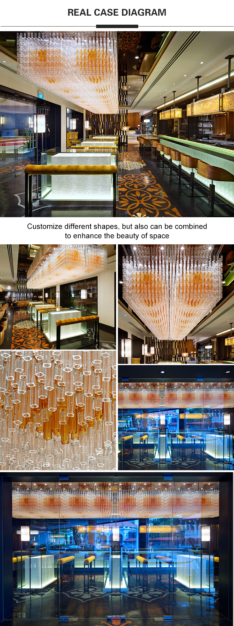 hotel lobby lighting