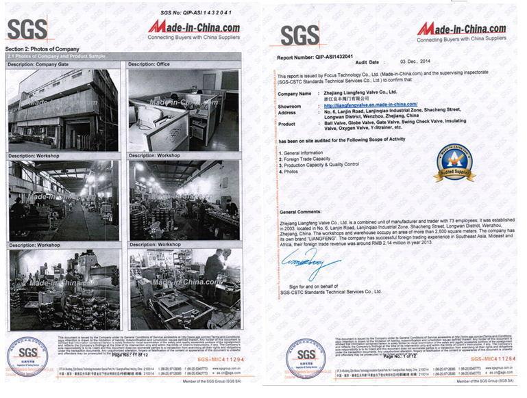 ANSI/ASME, Ball Valve of 2PC, Stainless Steel