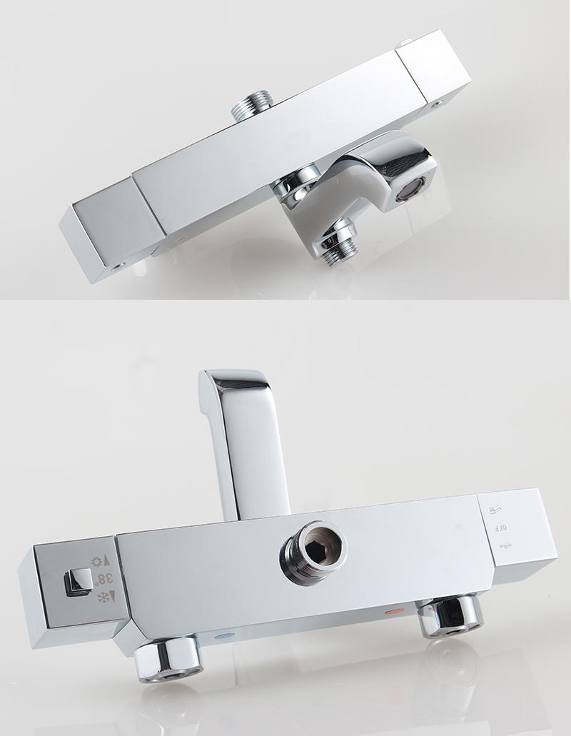 Traitional Design Thermostat Rain Shower