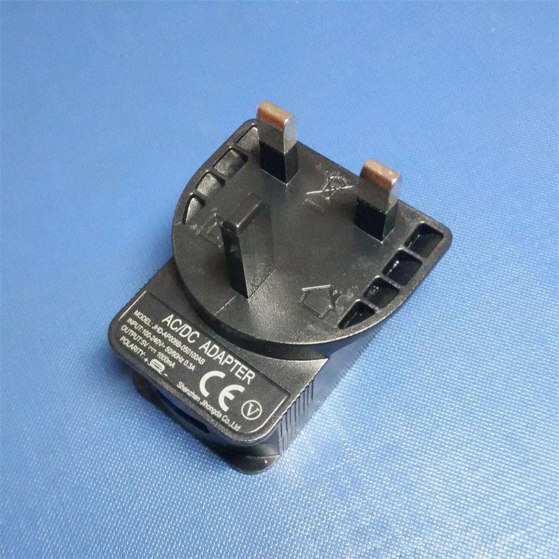 UK Plug Power Supply AC/DC 5V 1A USB Charger