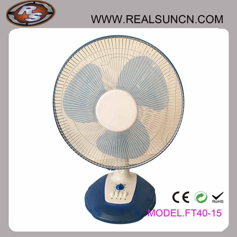 New Model 16inch Table Fan/Desk Fan with Timer