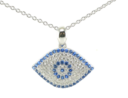 Good Design and Fashion 925 Silver Eyes Design Pendant Jewelry (P5055)