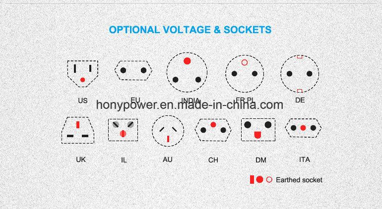 8kVA AC Three Phase 50Hz Single Bearing Brushless Alternator
