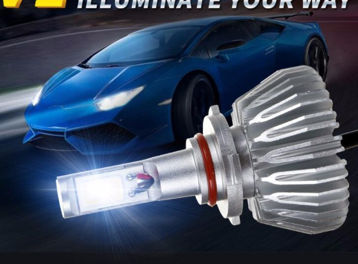 Super Bright COB H4 LED Headlights for Cars